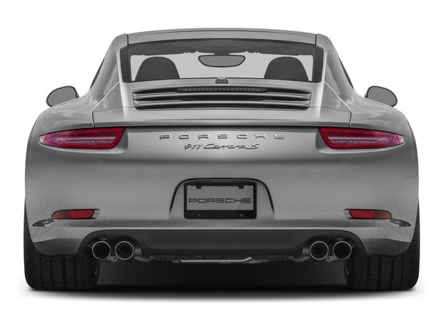 2016 Porsche 911 Prices and Values Coupe 2D Black Edition H6 rear view