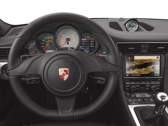 2016 Porsche 911 Prices and Values Coupe 2D Black Edition H6 driver's dashboard