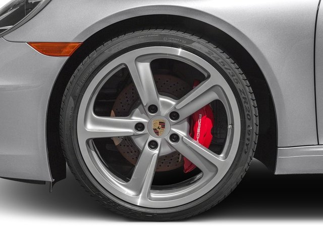 2016 Porsche 911 Prices and Values Coupe 2D Black Edition H6 wheel