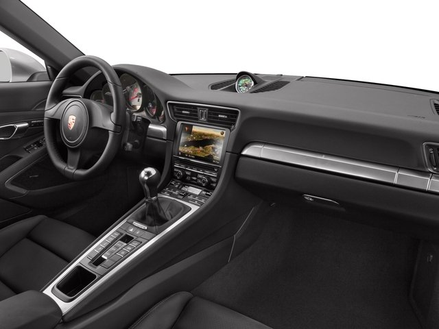 2016 Porsche 911 Prices and Values Coupe 2D Black Edition H6 passenger's dashboard