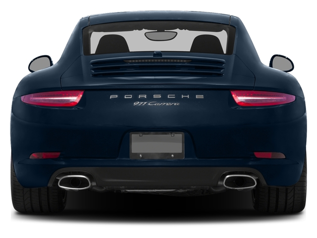 2016 Porsche 911 Prices and Values Coupe 2D H6 rear view