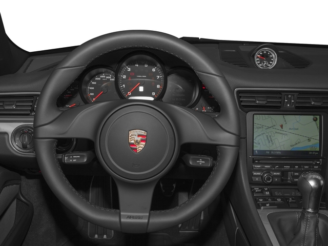 2016 Porsche 911 Prices and Values Coupe 2D H6 driver's dashboard