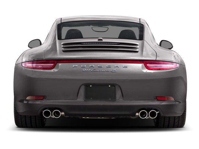 2016 Porsche 911 Prices and Values Coupe 2D 4S AWD H6 rear view