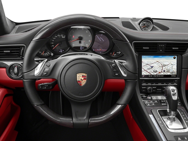 2016 Porsche 911 Prices and Values Coupe 2D 4 Black Edition AWD H6 driver's dashboard