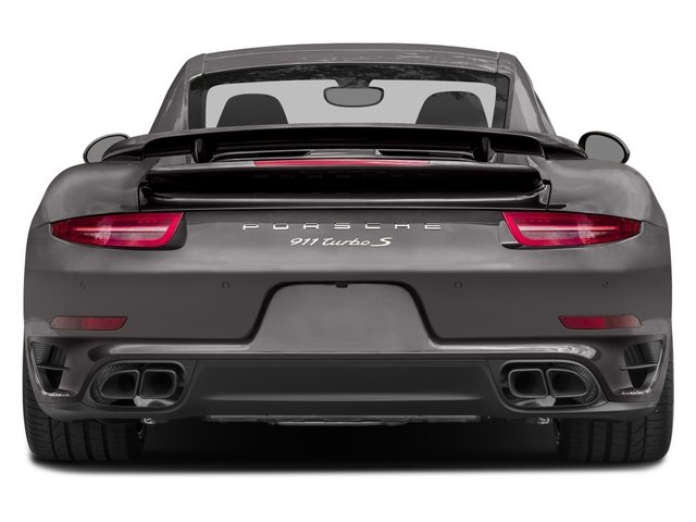 2016 Porsche 911 Prices and Values Coupe 2D Turbo AWD H6 rear view