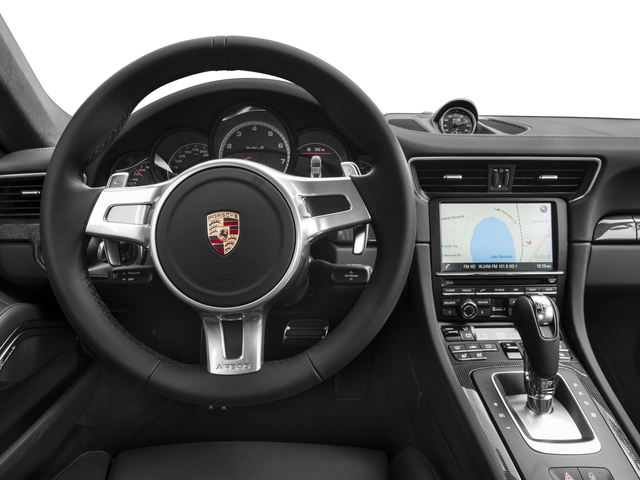 2016 Porsche 911 Prices and Values Coupe 2D Turbo AWD H6 driver's dashboard