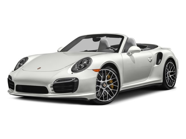 2016 Porsche 911 Prices and Values Cabriolet 2D AWD H6 Turbo side front view