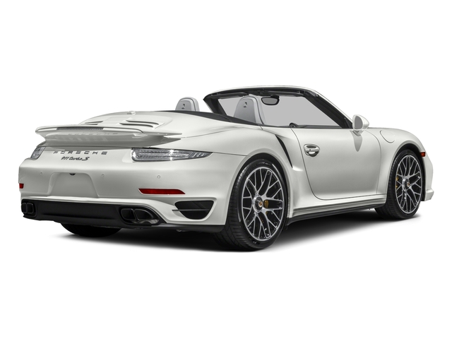 2016 Porsche 911 Prices and Values Cabriolet 2D AWD H6 Turbo side rear view