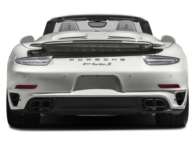 2016 Porsche 911 Prices and Values Cabriolet 2D AWD H6 Turbo rear view