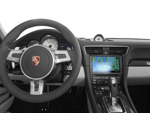 2016 Porsche 911 Prices and Values Cabriolet 2D AWD H6 Turbo driver's dashboard