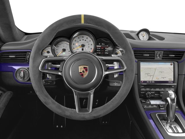 2016 Porsche 911 Prices and Values 2 Door Coupe driver's dashboard