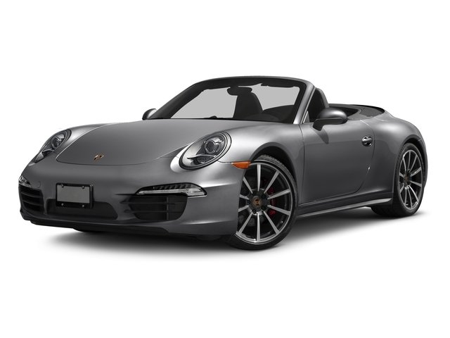 2016 Porsche 911 Prices and Values Cabriolet 2D 4S AWD H6 side front view