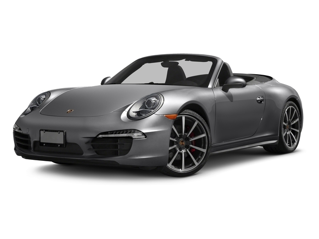 2016 Porsche 911 Prices and Values Cabriolet 2D 4 Black Edition AWD H6 side front view