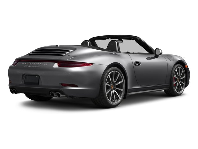 2016 Porsche 911 Prices and Values Cabriolet 2D 4 Black Edition AWD H6 side rear view