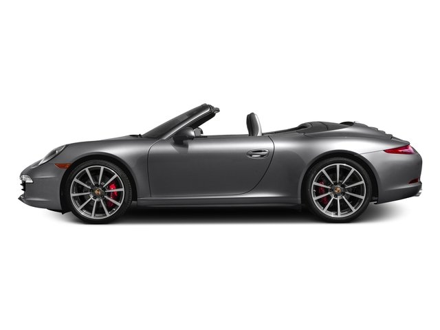 2016 Porsche 911 Prices and Values Cabriolet 2D 4 Black Edition AWD H6 side view