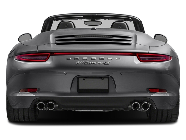 2016 Porsche 911 Prices and Values Cabriolet 2D 4S AWD H6 rear view
