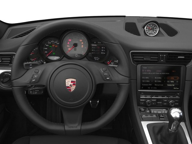 2016 Porsche 911 Prices and Values Cabriolet 2D 4 AWD H6 driver's dashboard