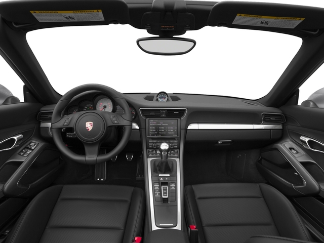 2016 Porsche 911 Prices and Values Cabriolet 2D 4S AWD H6 full dashboard