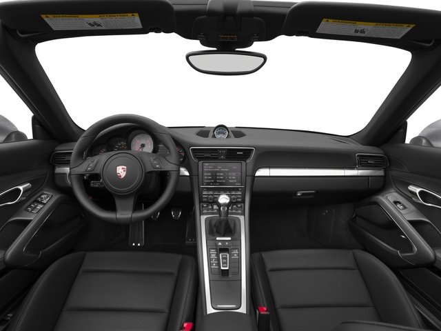 2016 Porsche 911 Prices and Values Cabriolet 2D 4 Black Edition AWD H6 full dashboard