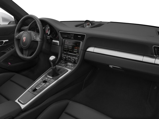 2016 Porsche 911 Prices and Values Cabriolet 2D 4 Black Edition AWD H6 passenger's dashboard
