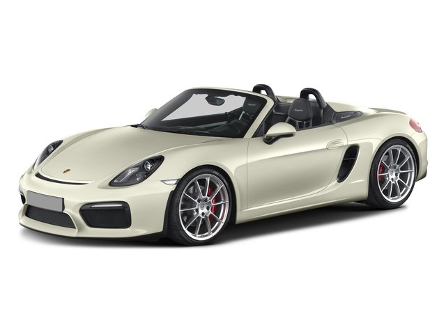 2016 Porsche Boxster Prices and Values Roadster 2D Spyder H6 side front view