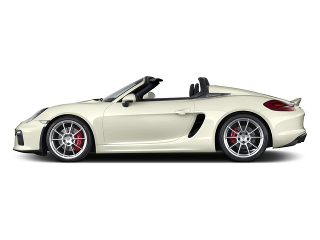 2016 Porsche Boxster Prices and Values Roadster 2D Spyder H6 side view