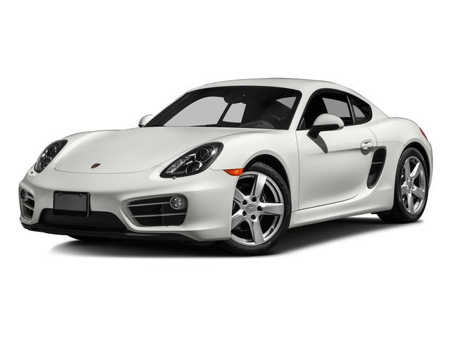 2016 Porsche Cayman Prices and Values Coupe 2D H6 side front view