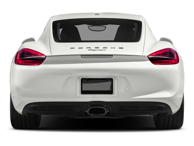 2016 Porsche Cayman Prices and Values Coupe 2D H6 rear view