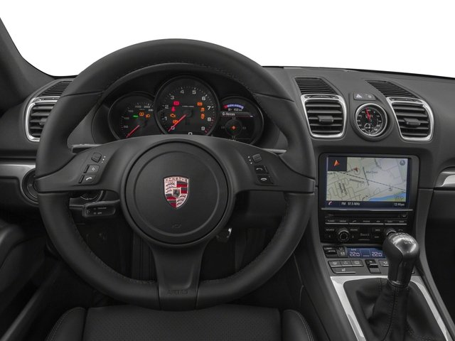 2016 Porsche Cayman Prices and Values Coupe 2D H6 driver's dashboard