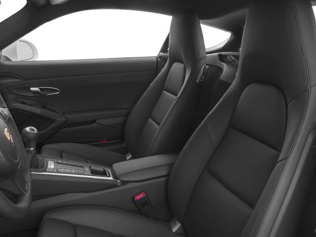 2016 Porsche Cayman Prices and Values Coupe 2D H6 front seat interior