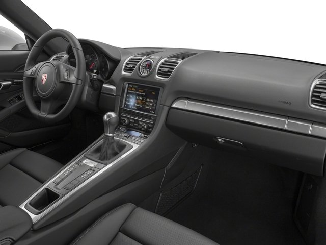 2016 Porsche Cayman Prices and Values Coupe 2D H6 passenger's dashboard