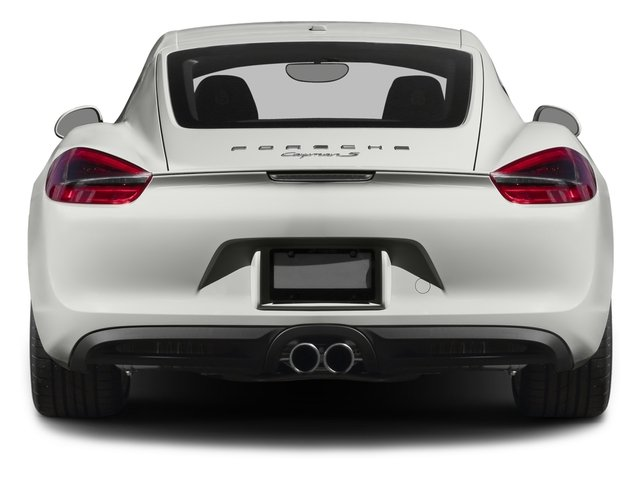 2016 Porsche Cayman Pictures Cayman Coupe 2D S H6 photos rear view