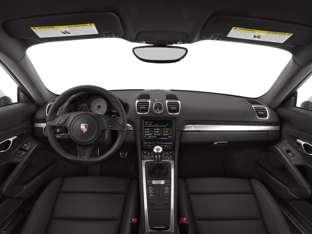 2016 Porsche Cayman Pictures Cayman Coupe 2D S H6 photos full dashboard