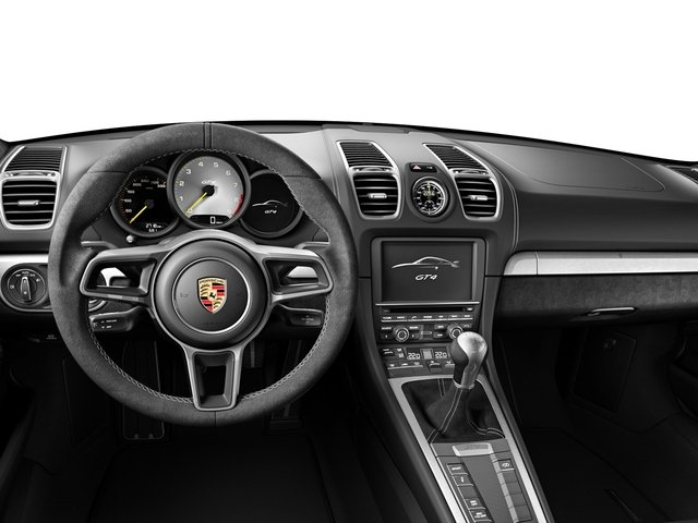 2016 Porsche Cayman Prices and Values Coupe 2D GT4 H6 full dashboard