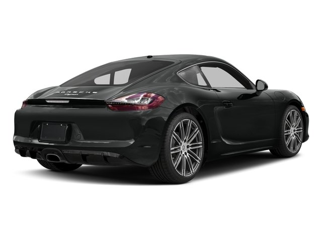 2016 Porsche Cayman Prices and Values Coupe 2D Black Edition H6 side rear view
