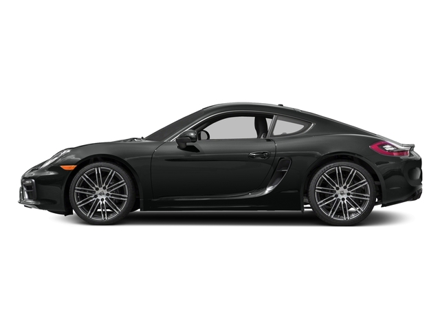 2016 Porsche Cayman Prices and Values Coupe 2D Black Edition H6 side view