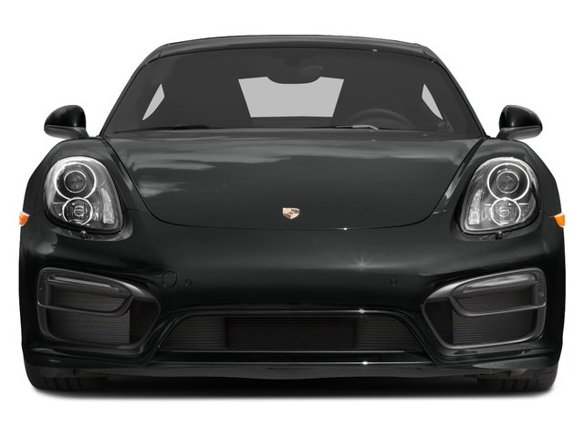 2016 Porsche Cayman Prices and Values Coupe 2D Black Edition H6 front view