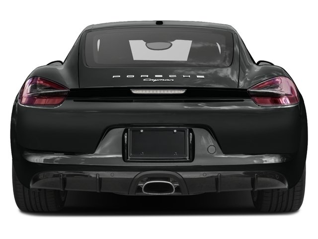 2016 Porsche Cayman Prices and Values Coupe 2D Black Edition H6 rear view