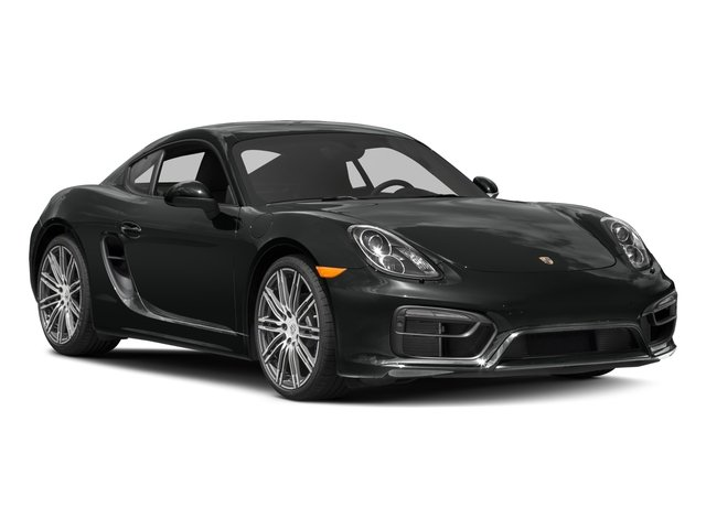 2016 Porsche Cayman Prices and Values Coupe 2D Black Edition H6 side front view