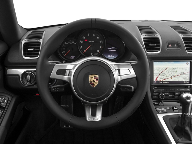 2016 Porsche Cayman Prices and Values Coupe 2D Black Edition H6 driver's dashboard