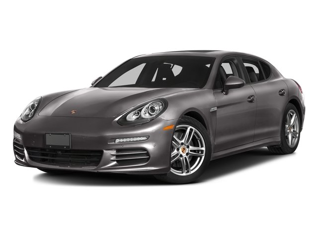 2016 Porsche Panamera Pictures Panamera Hatchback 4D Exclusive AWD V8 Turbo photos side front view