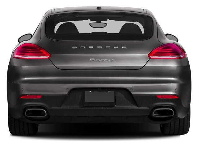 2016 Porsche Panamera Pictures Panamera Hatchback 4D Exclusive AWD V8 Turbo photos rear view