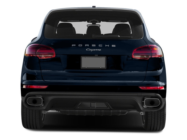 2016 Porsche Cayenne Prices and Values Utility 4D AWD V6 T-Diesel rear view