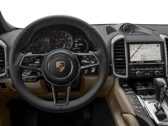 2016 Porsche Cayenne Prices and Values Utility 4D AWD V6 driver's dashboard