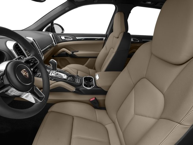 2016 Porsche Cayenne Prices and Values Utility 4D AWD V6 T-Diesel front seat interior