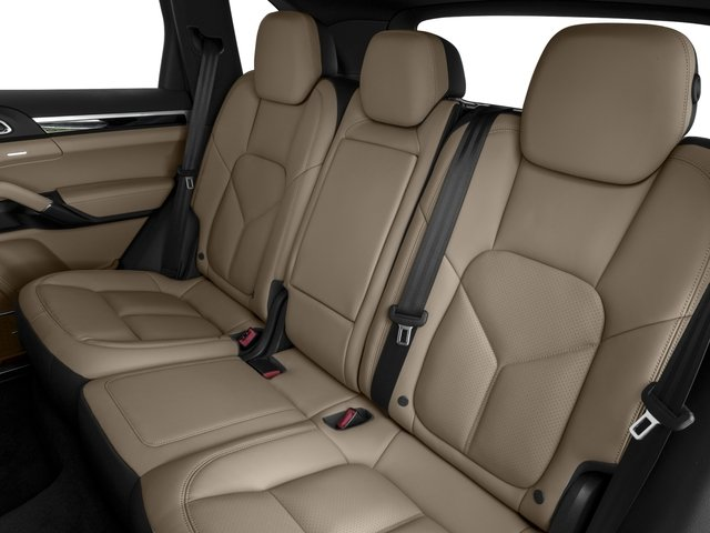 2016 Porsche Cayenne Prices and Values Utility 4D AWD V6 T-Diesel backseat interior