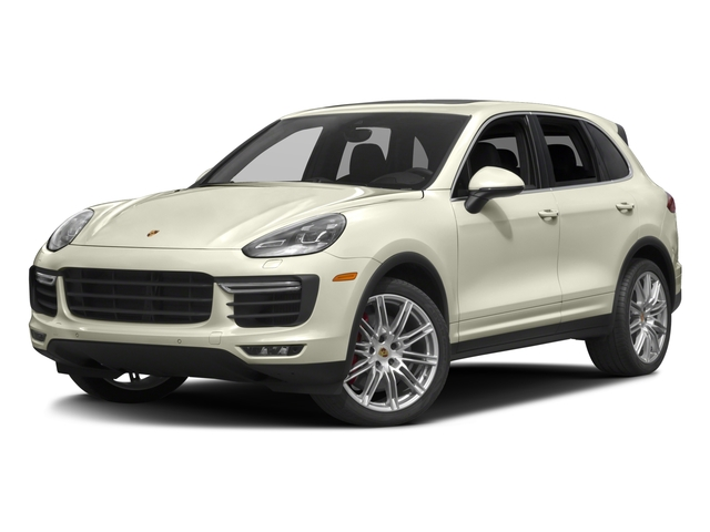 2016 Porsche Cayenne Prices and Values Utility 4D S AWD V8 Turbo side front view