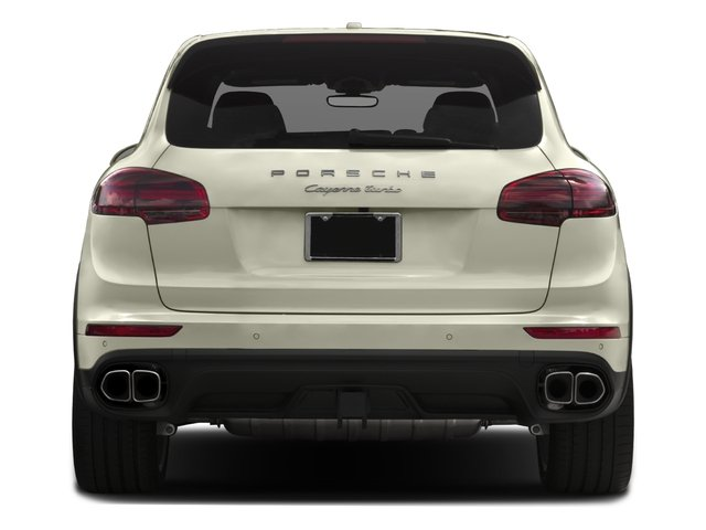 2016 Porsche Cayenne Prices and Values Utility 4D S AWD V8 Turbo rear view