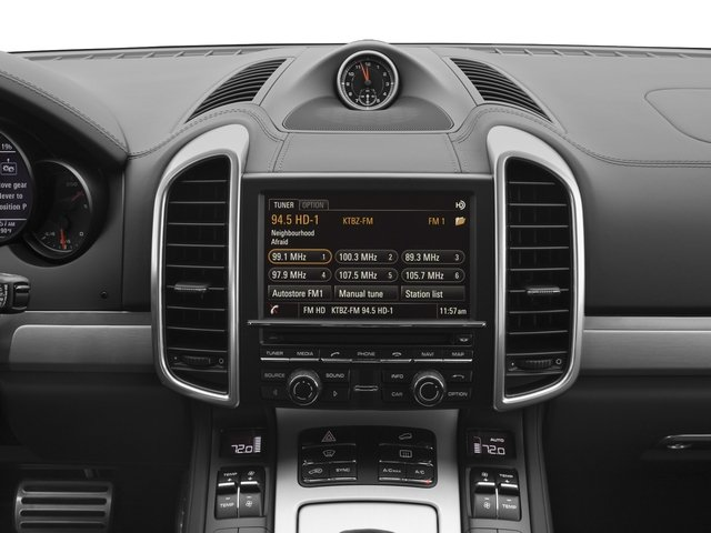 2016 Porsche Cayenne Prices and Values Utility 4D S AWD V8 Turbo stereo system