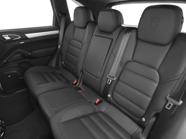 2016 Porsche Cayenne Prices and Values Utility 4D S AWD V8 Turbo backseat interior